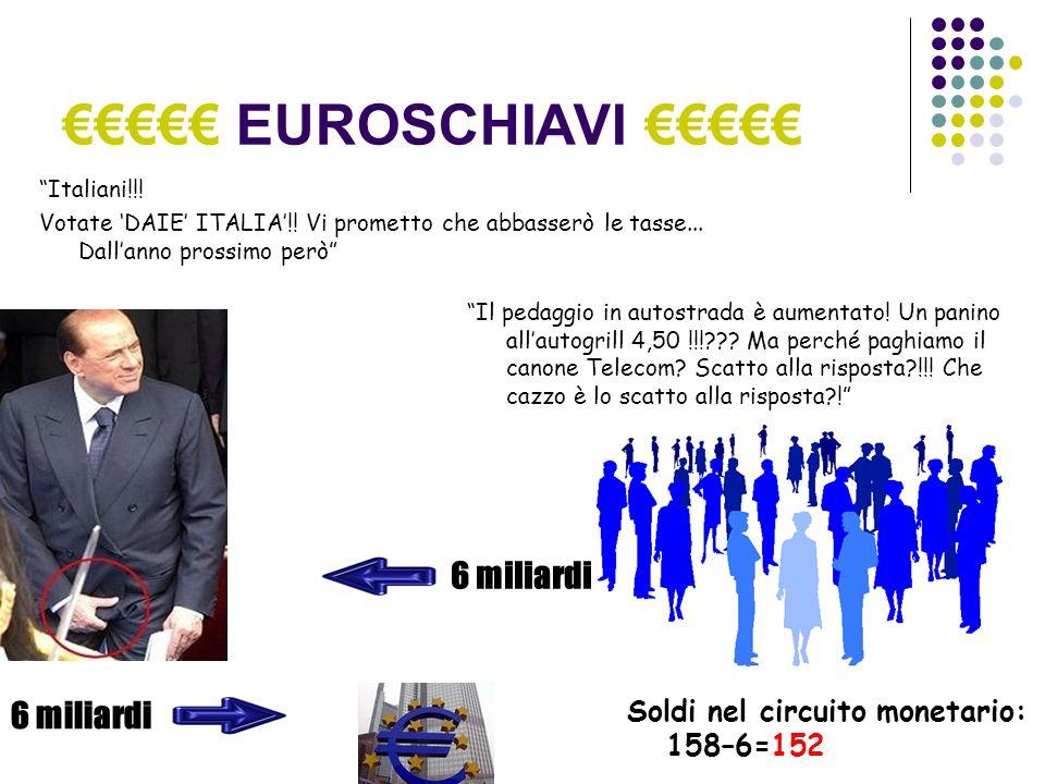 EUROSCHIAVI Italiani!!. Votate DAIE ITALIA!. Vi prometto che abbasserò le tasse...