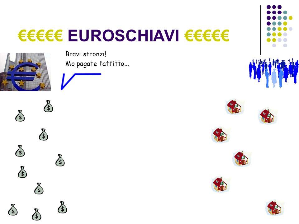EUROSCHIAVI Ma che cosa è la BCE.Un ente pubblico.