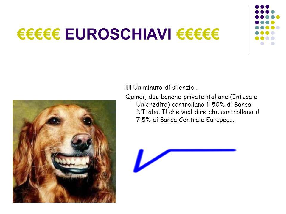 EUROSCHIAVI !!!. Un minuto di silenzio...