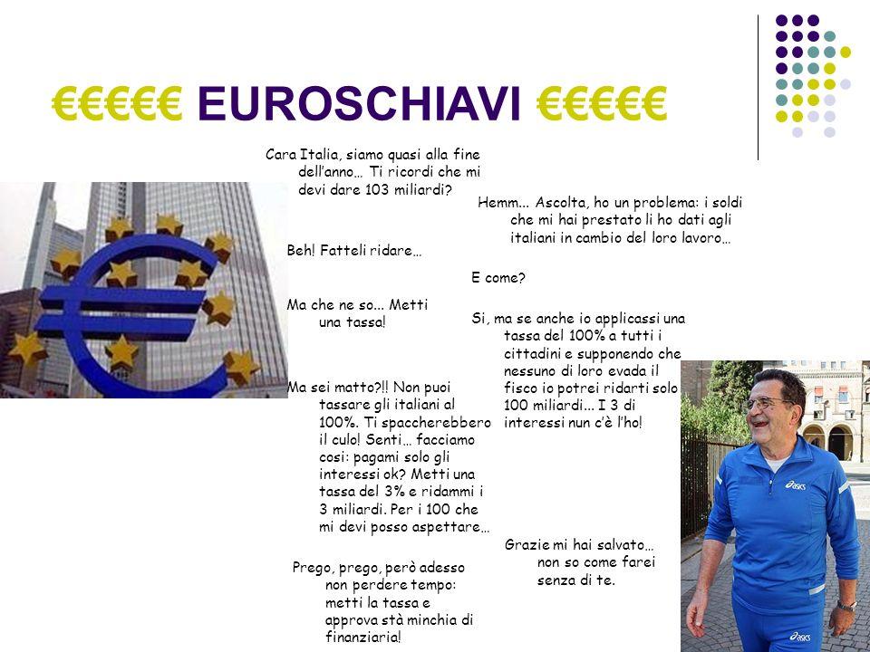 EUROSCHIAVI Italiani!!.Cè grossa crisi… Dobbiamo rimanere uniti.
