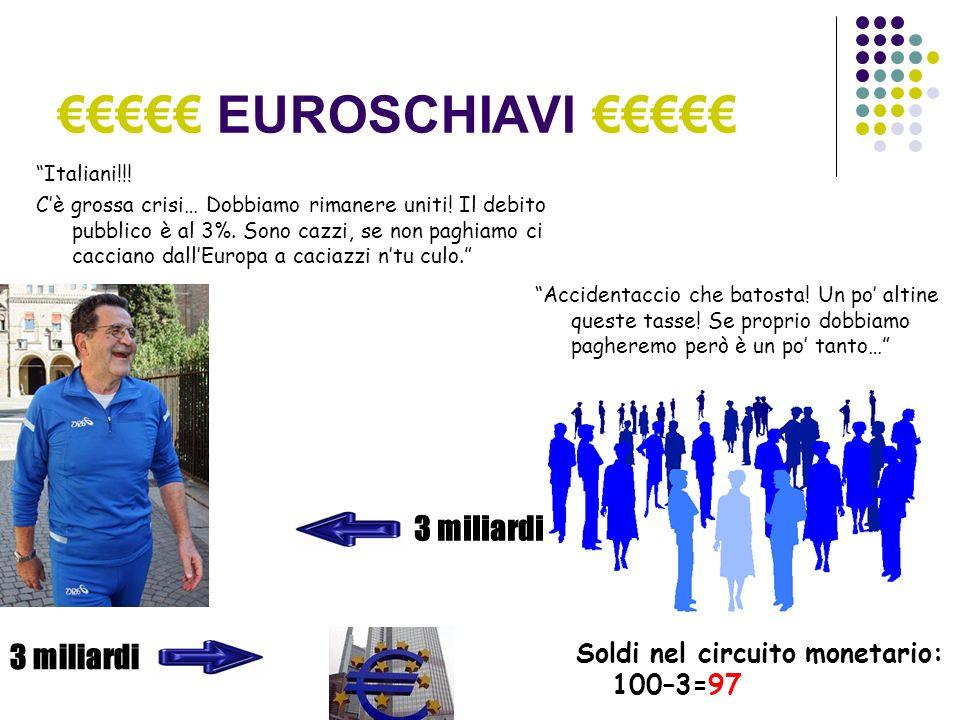 EUROSCHIAVI Italiani!!. Cè grossa crisi… Dobbiamo rimanere uniti.