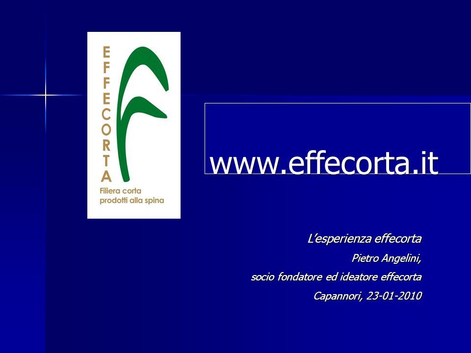 Lesperienza effecorta Pietro Angelini, socio fondatore ed ideatore effecorta Capannori, 23-01-2010 www.effecorta.it.it www.effecorta.it.it