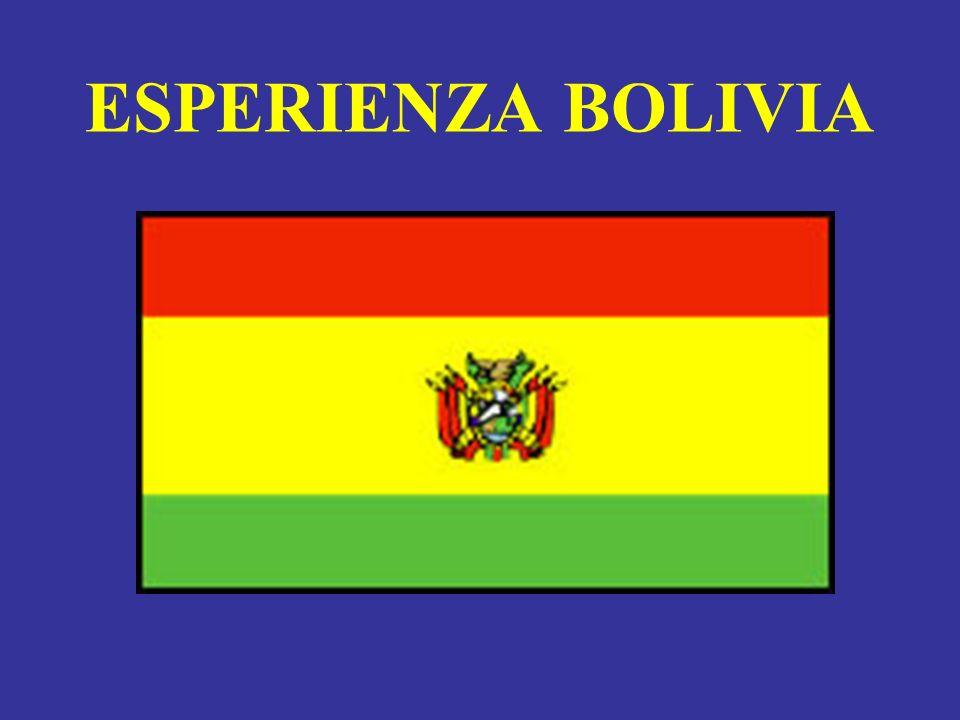 BOLIVIA Popolazione: 8,5 milioni abitanti Pop.