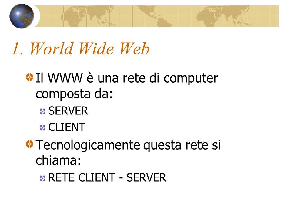 Link (collegamento ipertestuale) L uso di un collegamento ipertestuale per spostarsi da un posto a un altro è una delle attività più comuni nel World Wide Web.