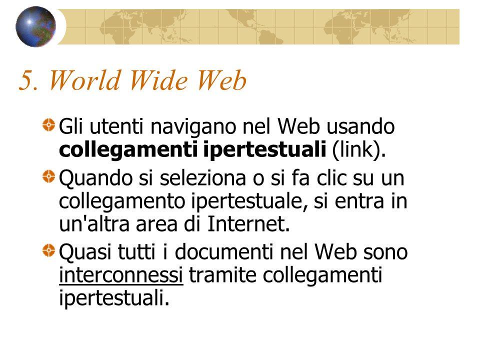 4.Link Non tutti i collegamenti sono elementi di testo.