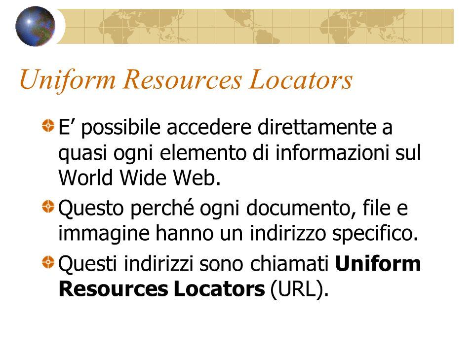 HtML e Web HtML non è lunico modo per presentare informazioni sul Web, ma è l elemento di coesione degli innumerevoli frammenti che costituiscono il WWW.