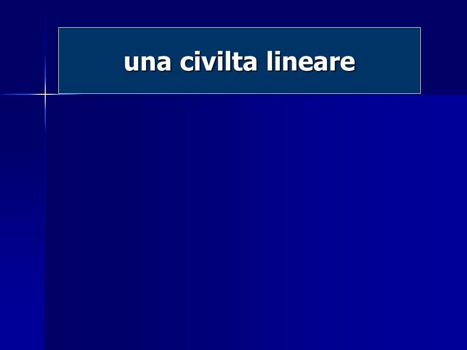 una civilta lineare
