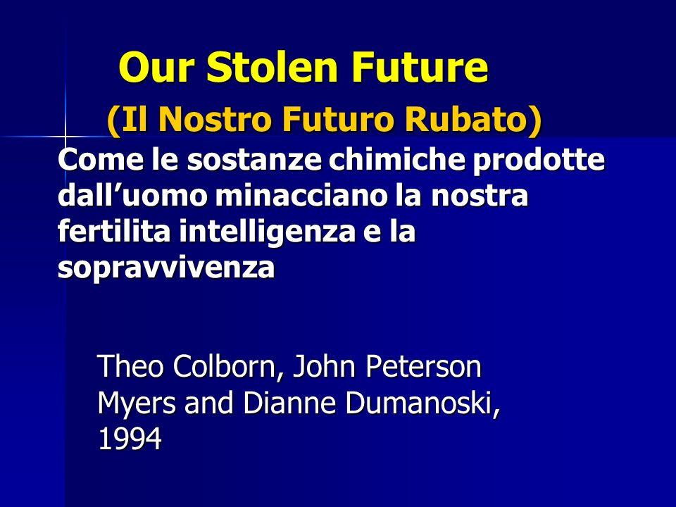 Our Stolen Future (Il Nostro Futuro Rubato) Come le sostanze chimiche prodotte dalluomo minacciano la nostra fertilita intelligenza e la sopravvivenza Our Stolen Future (Il Nostro Futuro Rubato) Come le sostanze chimiche prodotte dalluomo minacciano la nostra fertilita intelligenza e la sopravvivenza Theo Colborn, John Peterson Myers and Dianne Dumanoski, 1994