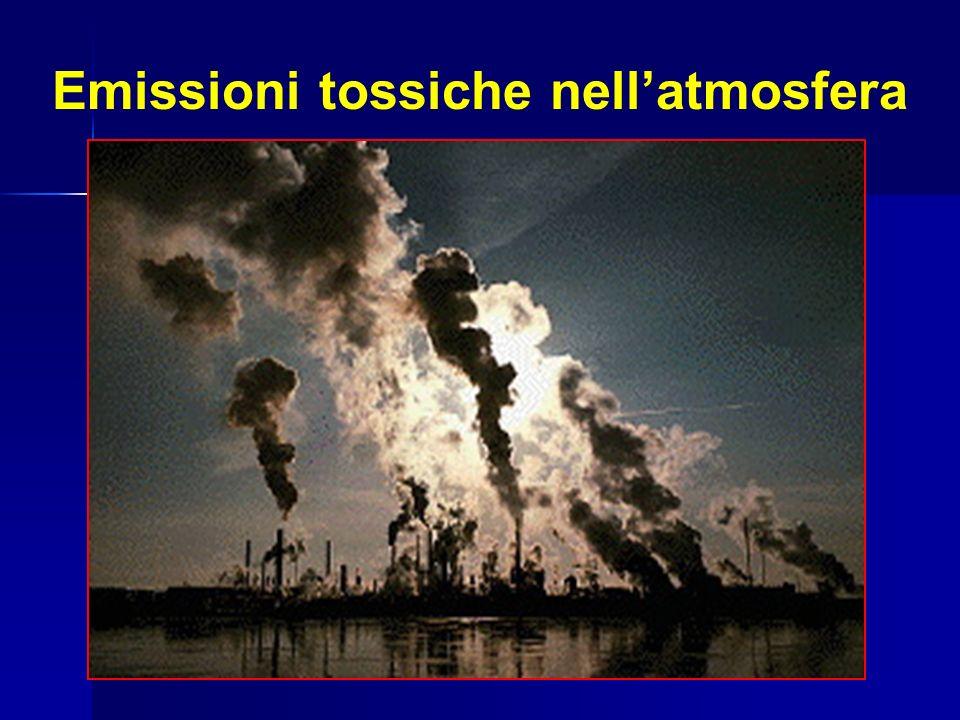 Emissioni tossiche nellatmosfera