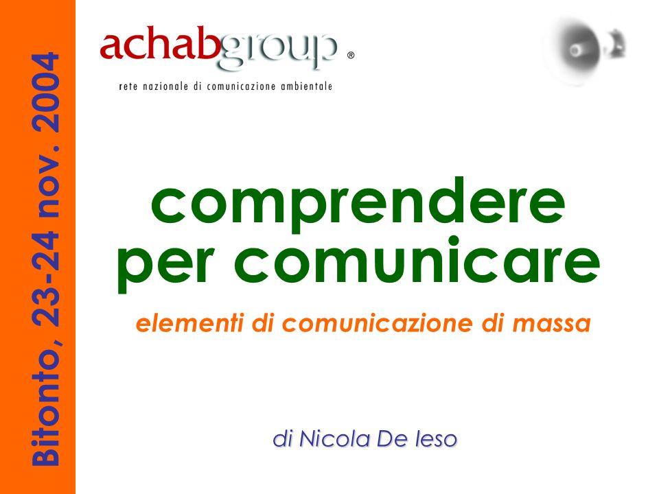 elementi di comunicazione di massa la creatività