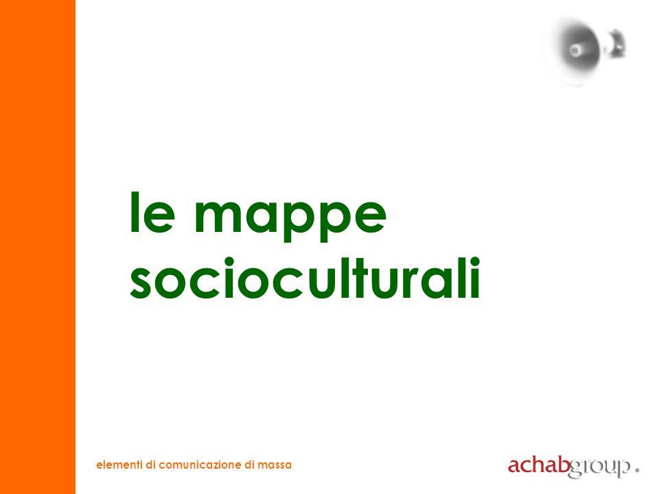 elementi di comunicazione di massa mappa socioculturale la società italiana