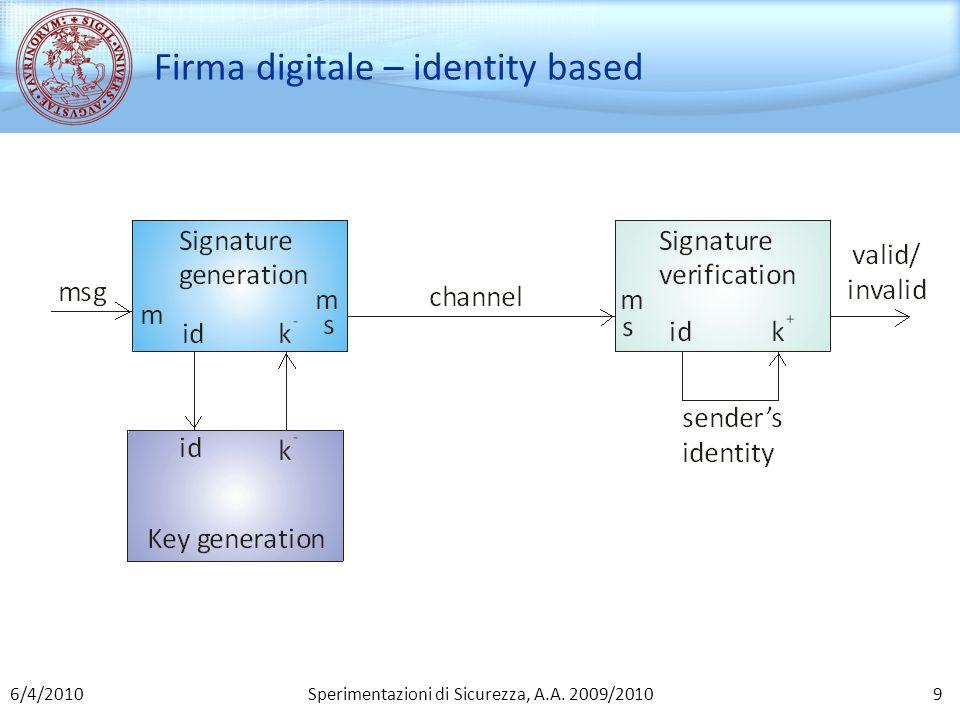 Sperimentazioni di Sicurezza, A.A. 2009/2010 SOK IBS: proprietà oOmesse… 406/4/2010