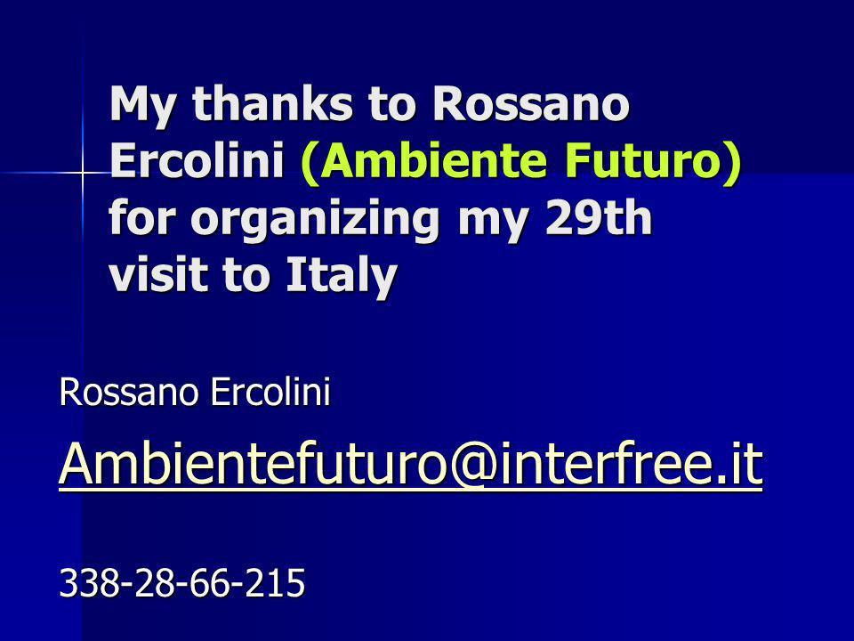 Italy In the Treviso region… In the Treviso region…