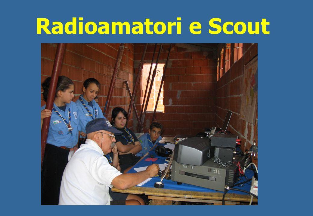 Una attività fondamentale che accomuna Radioamatori e Scout con gli Enti coinvolti nelle attività di Protezione Civile : Il Servizio Radio