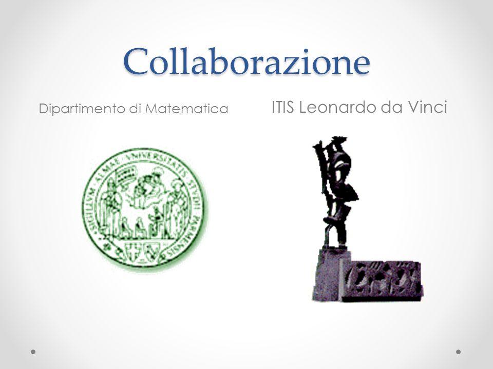 Collaborazione Dipartimento di Matematica ITIS Leonardo da Vinci