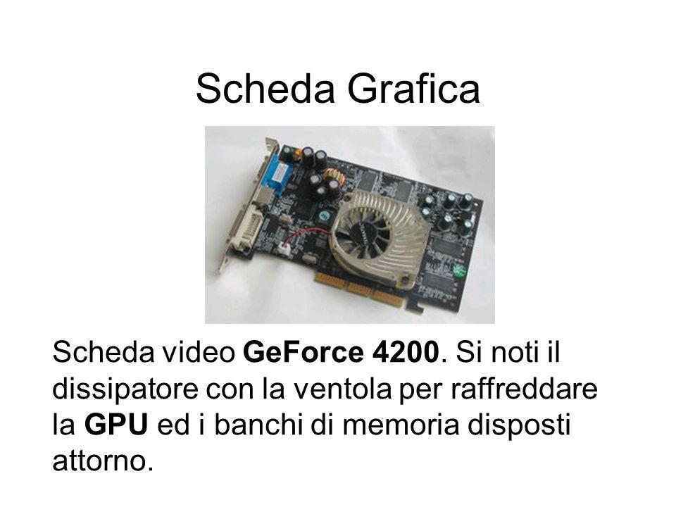 Scheda Grafica Scheda video GeForce 4200.