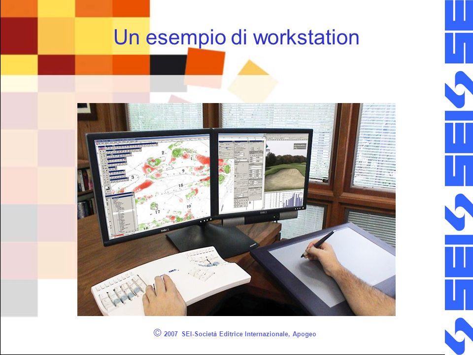 Un esempio di workstation © 2007 SEI-Società Editrice Internazionale, Apogeo