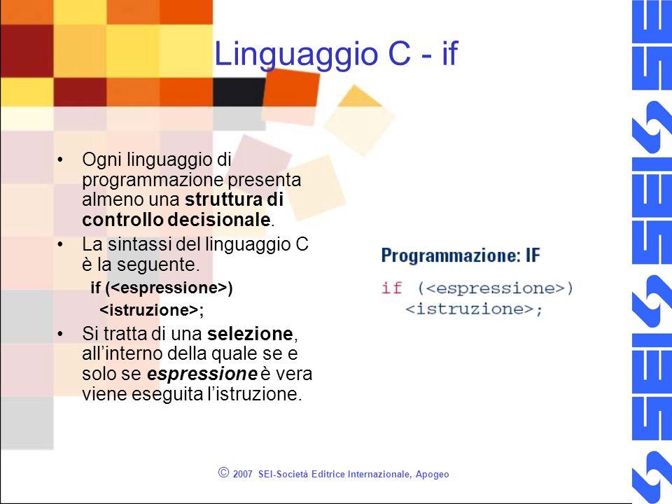 © 2007 SEI-Società Editrice Internazionale, Apogeo Selezione di selezioni