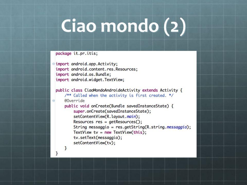 Ciao mondo (2)