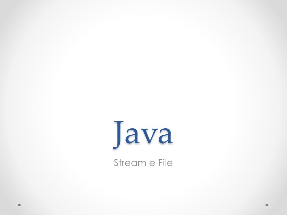 Java Stream e File