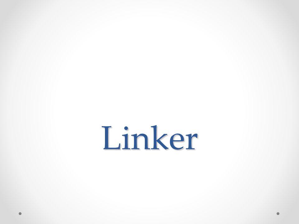 Caricatore (linker) Il linking (letteralmente collegamento) è il procedimento di integrazione dei vari moduli a cui un programma fa riferimento (i quali possono essere sottoprogrammi o librerie), per creare una singola unità eseguibile.