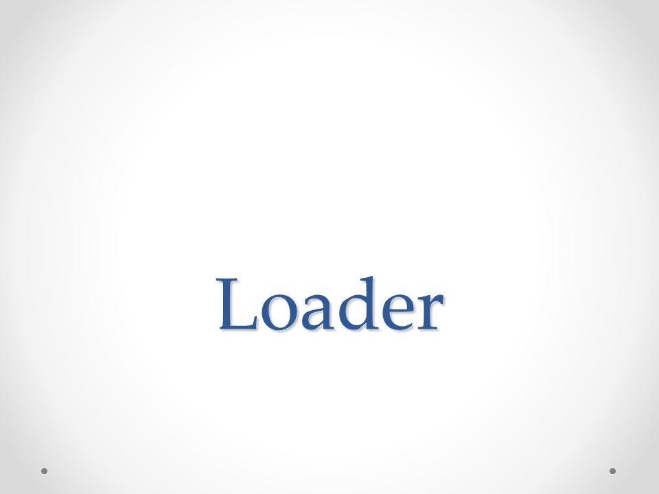 Caricatore (loader) Viene individuata una zona di memoria in cui caricare il programma.