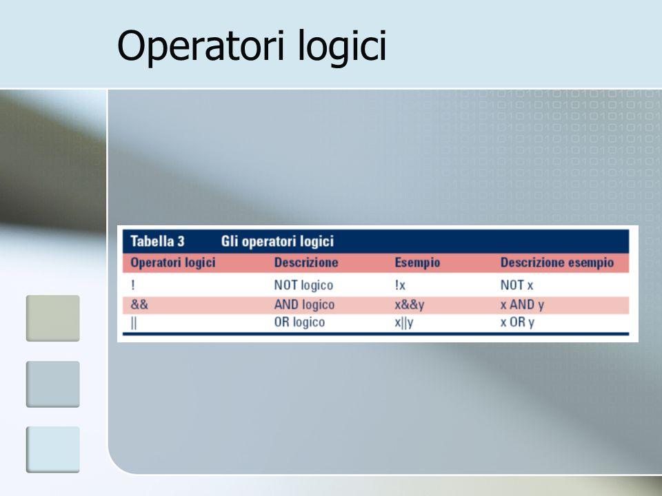 Operatori logici