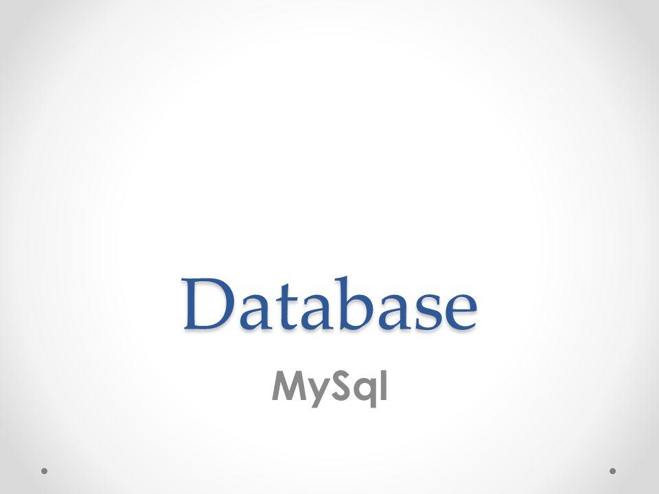 MySql MySQL è un Relational database management system (RDBMS), composto da un client con interfaccia a caratteri e un server, entrambi disponibili sia per sistemi Unix come GNU/Linux che per Windows, anche se prevale un suo utilizzo in ambito Unix.