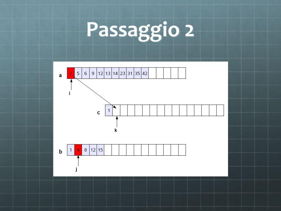 Passaggio 2