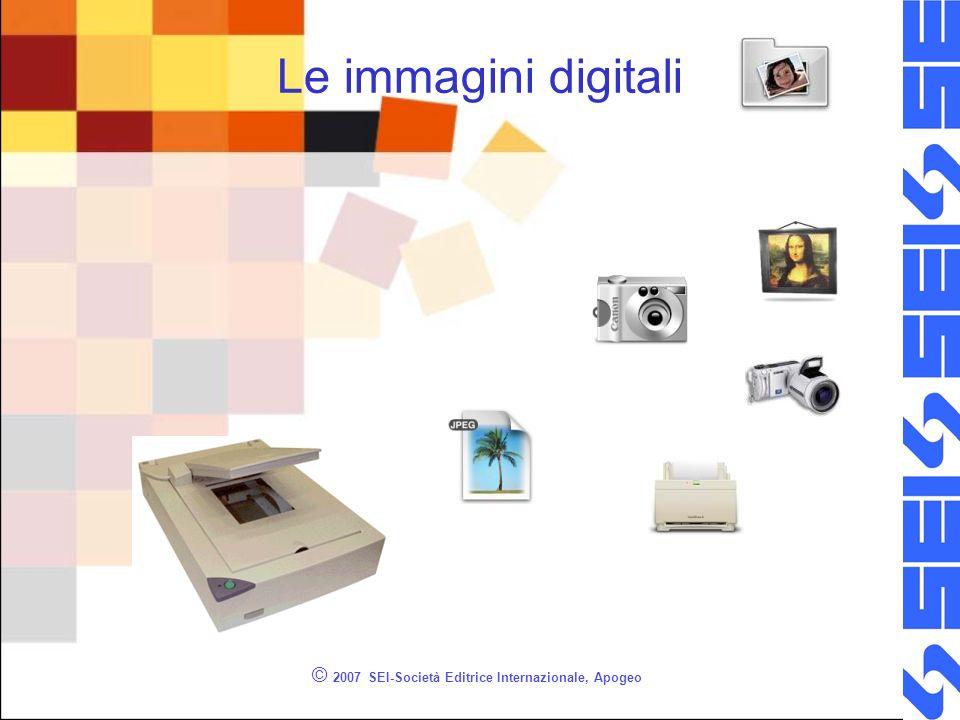 © 2007 SEI-Società Editrice Internazionale, Apogeo Le immagini digitali
