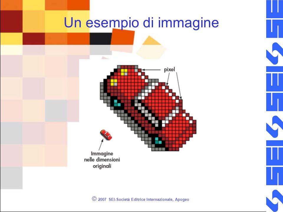 © 2007 SEI-Società Editrice Internazionale, Apogeo Un esempio di immagine