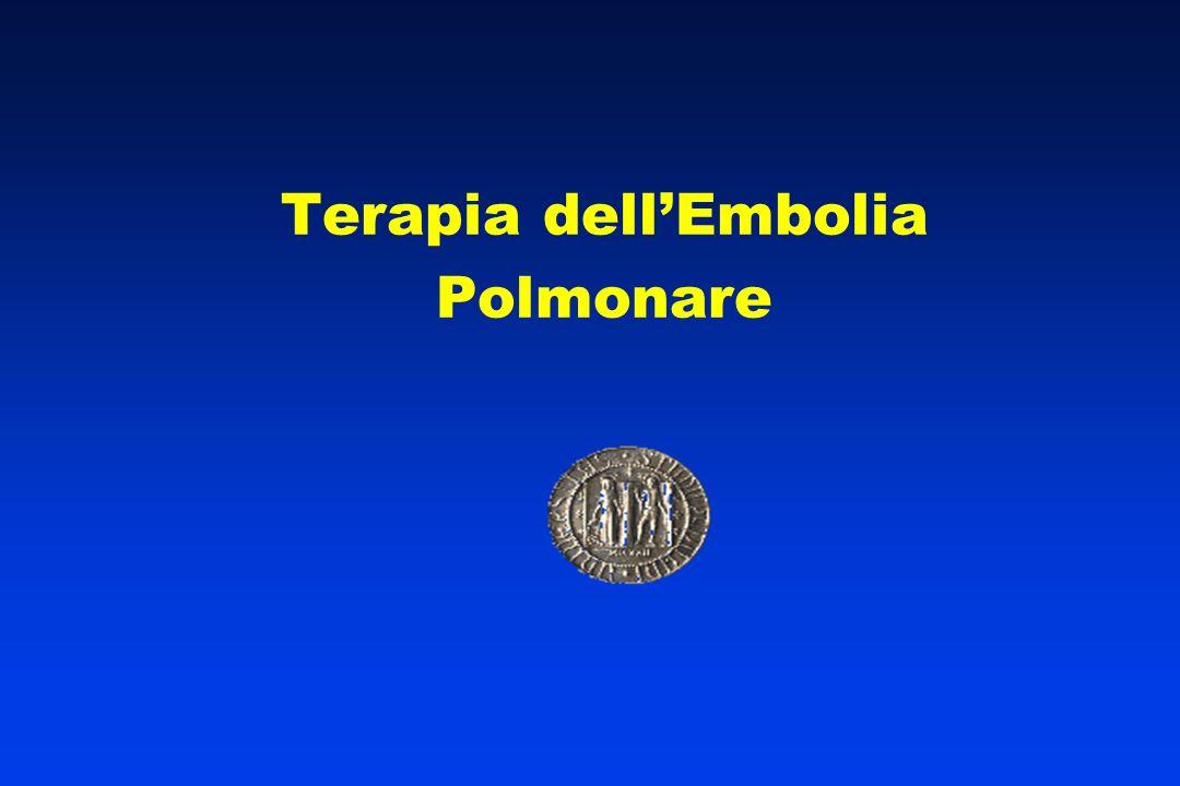 Terapia dellEmbolia Polmonare