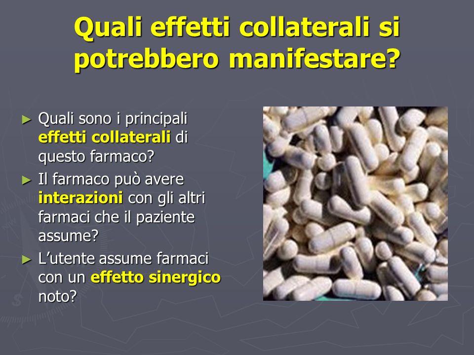 Effetti sinergici noti Lanitop®+Isoptin ®= effetto bradicardizzante Inderal+Glucophage= Pericolo di ipoglicemie asintomatiche Tiklid+Aspirina= aumentato rischio di emorragie