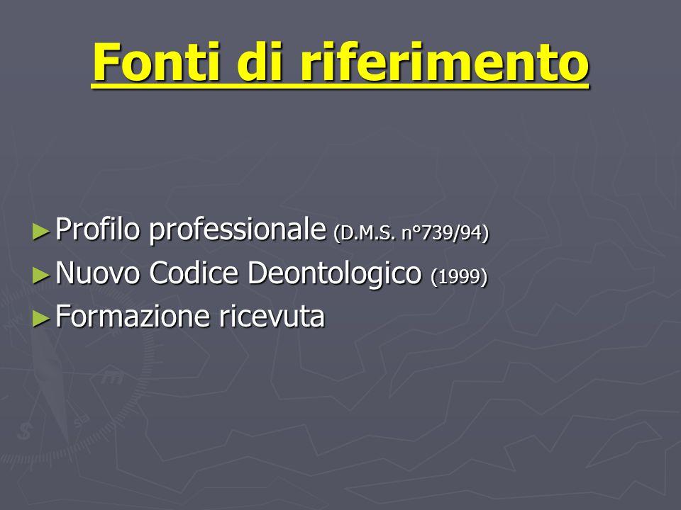 Il profilo professionale Compete allinfermiere la corretta applicazione delle prestazioni diagnostico terapeutiche (3° coma art 1) Compete allinfermiere la corretta applicazione delle prestazioni diagnostico terapeutiche (3° coma art 1)