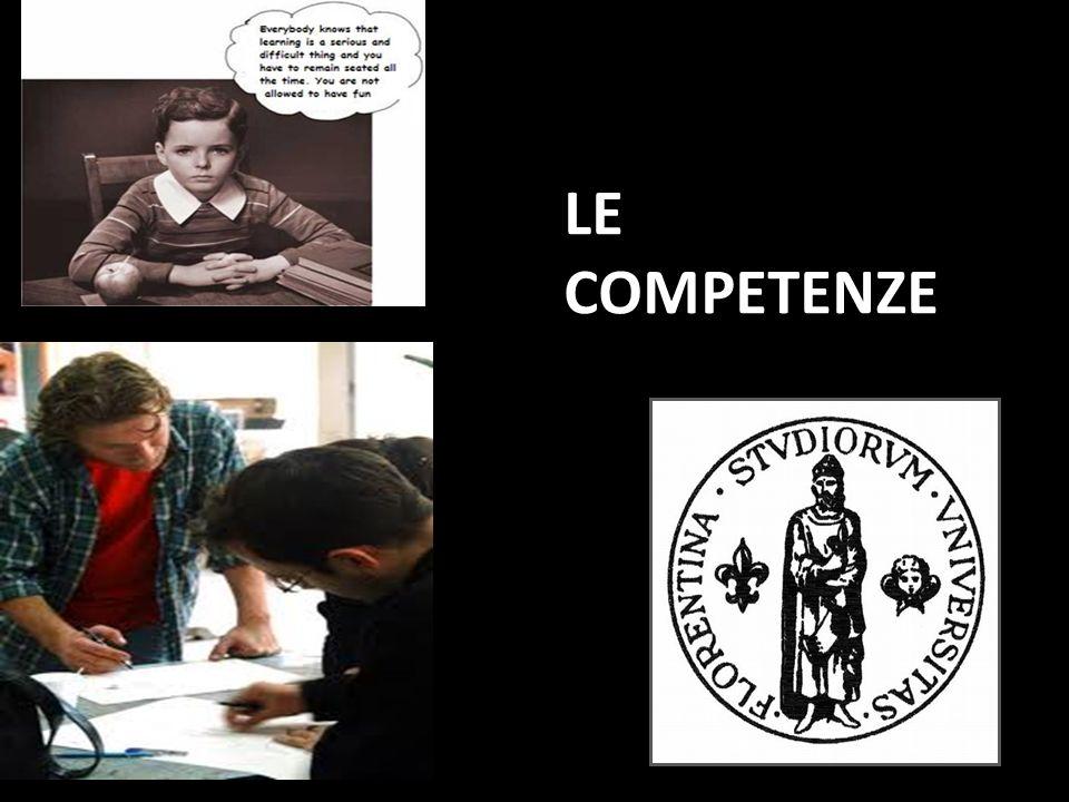 Il termine competenza deriva dal latino CUM(ANDARE, DIRIGERSI VERSO) e PETERE (CHIEDERE, SOLLECITARE) Capacità di colui che è in grado di conoscere e di applicare una tecnica ad una situazione problematica DEFINIZIONE DEFINIZIONE