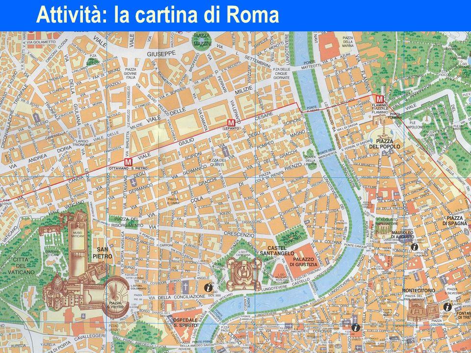ITL11210 Attività: la cartina di Roma