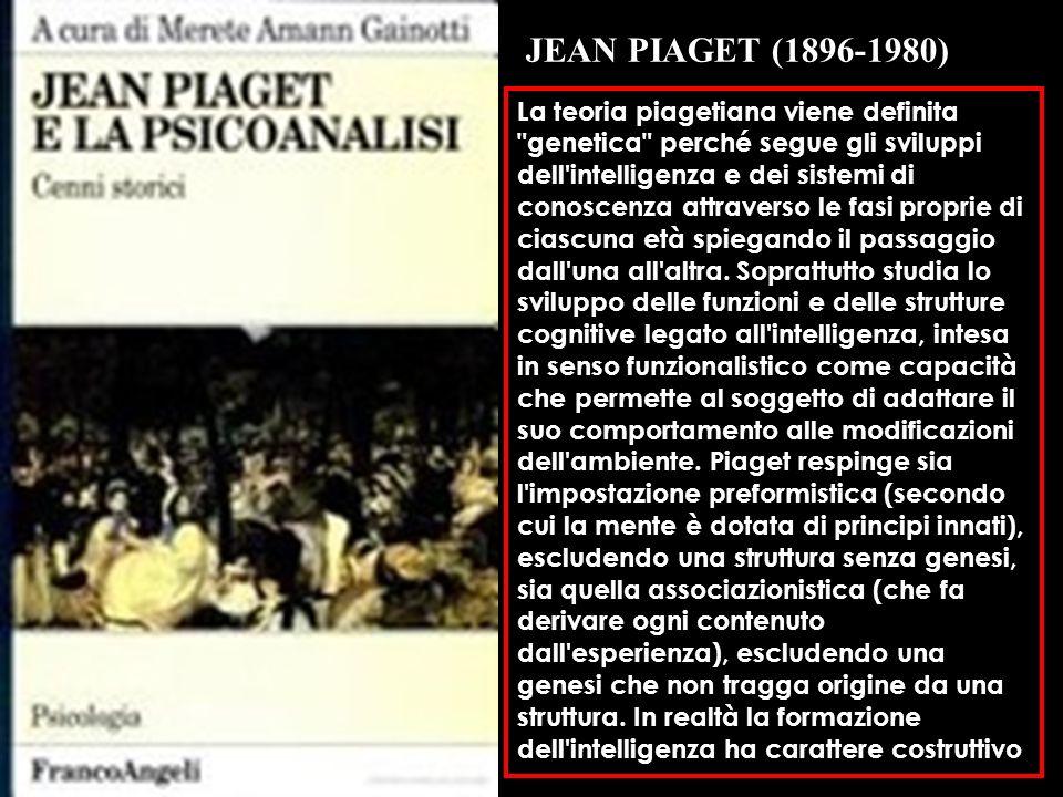 01/01/2014 La teoria piagetiana viene definita