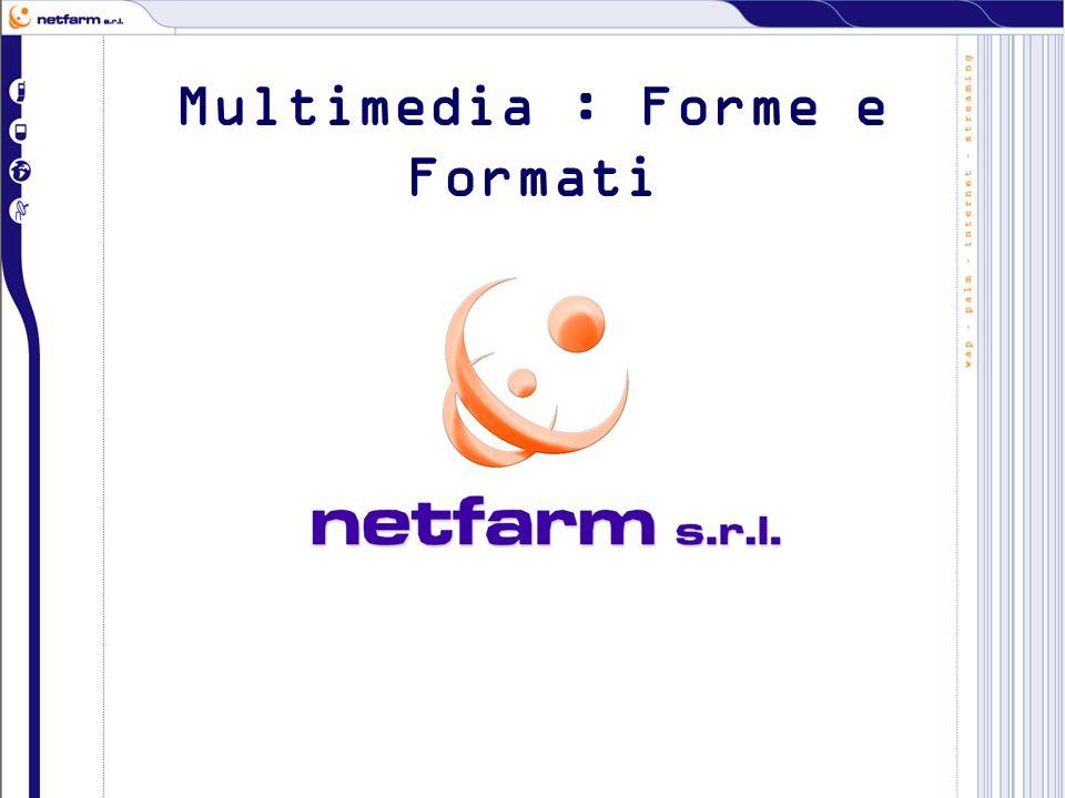 Multimedia : Forme e Formati