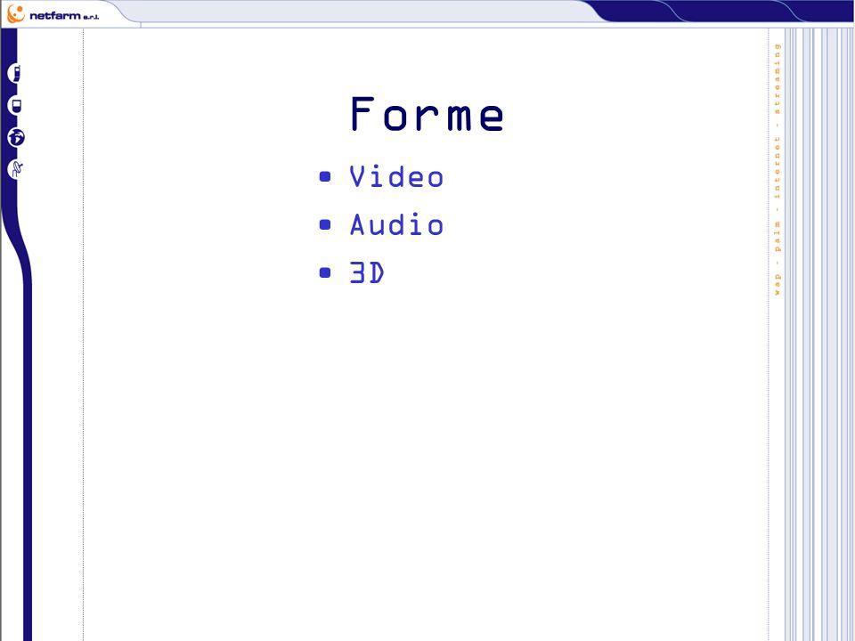 Forme Video Audio 3D