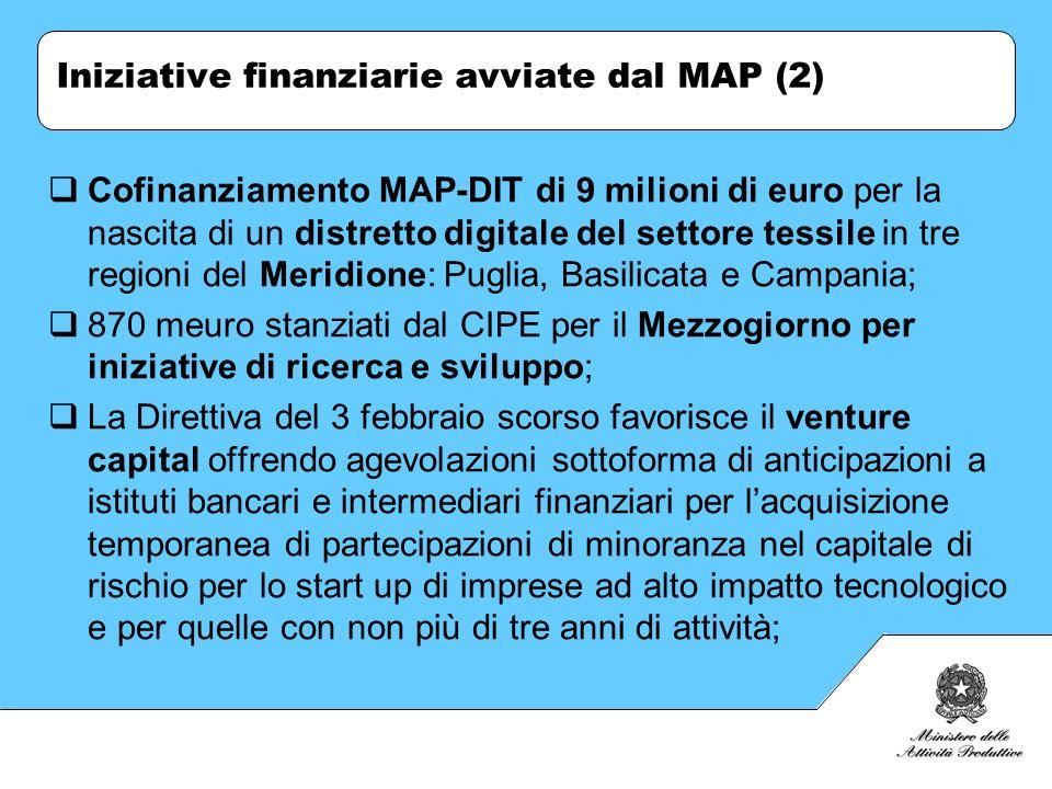 Cofinanziamento MAP-DIT di 9 milioni di euro per la nascita di un distretto digitale del settore tessile in tre regioni del Meridione: Puglia, Basilic
