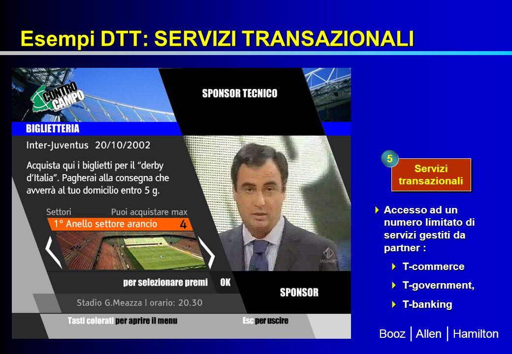Booz | Allen | Hamilton LUIGI PUGLIESE Responsabile Telecommunication, Media & Technology Group BOOZ ALLEN HAMILTON ITALIA pugliese_luigi@bah.com