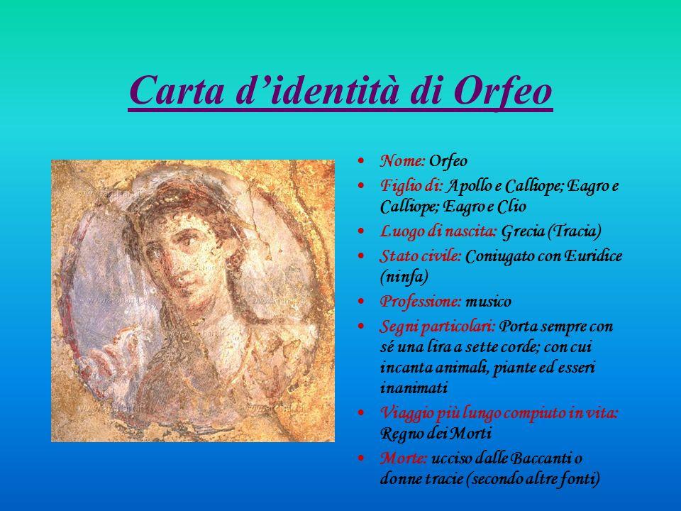 Principali differenze tra lOrfeo di Monteverdi e il mito classico Mito Monteverdi 1.Orfeo viene ucciso dalle Baccanti (o donne Ttracie).