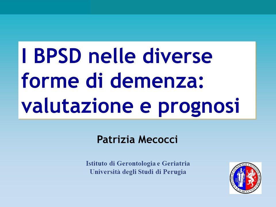 BPSD nella demenza di Alzheimer (AD)