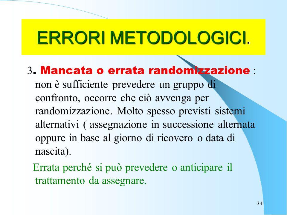 34 ERRORI METODOLOGICI.3.