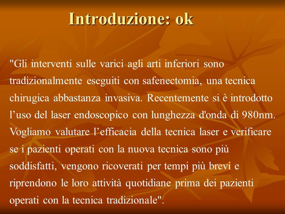 Introduzione: ok