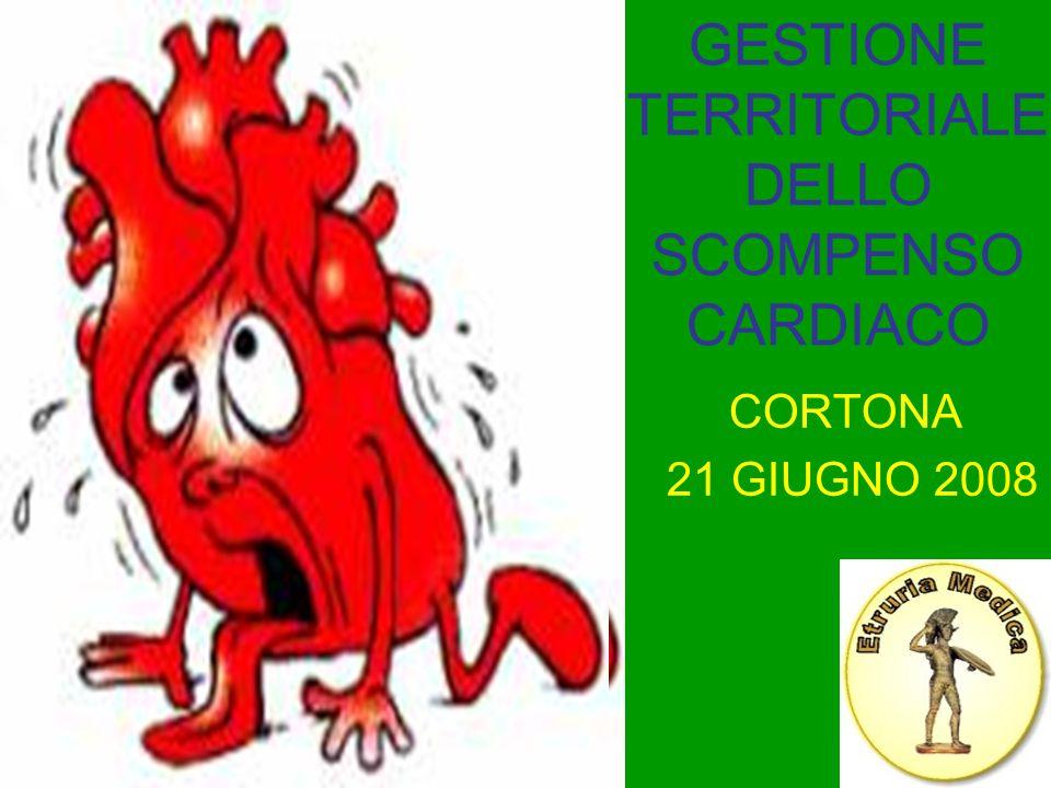 GESTIONE TERRITORIALE DELLO SCOMPENSO CARDIACO CORTONA 21 GIUGNO 2008