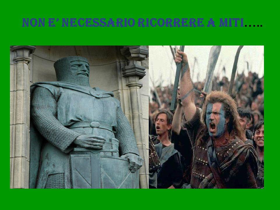 NON E NECESSARIO RICORRERE A MITI …..