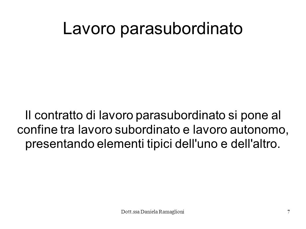 Dott.ssa Daniela Ramaglioni28 Licenziamento: evoluzione normativa L attuale regolamentazione del licenziamento è il risulato di 1 regolamentazione legislativa avvenuta nel corso degli anni.