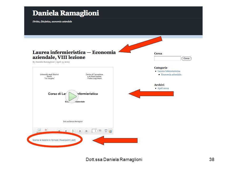 Dott.ssa Daniela Ramaglioni38