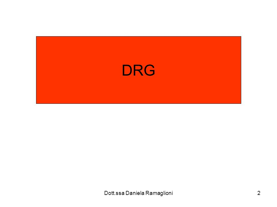 Dott.ssa Daniela Ramaglioni13 Quale normativa per la SDO Viene istituita dal DM sanità nel1991 1993: vengono precisati analiticamente i contenuti e modalità di trasmissione 1995: la SDO sostituisce il vecchio modello di rilevazione (ISTAT/D10) Nuovo DM sanità nel 2000: aggiornamento regole generali per la codifica informazione